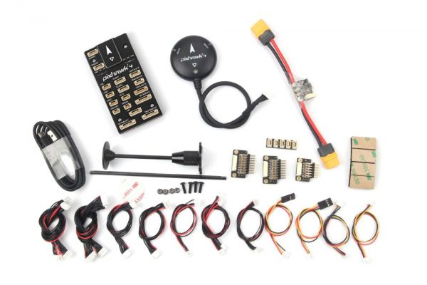 Holybro Pixhawk 4 mit Ublox NEO-M8N GPS und PM02 Modul