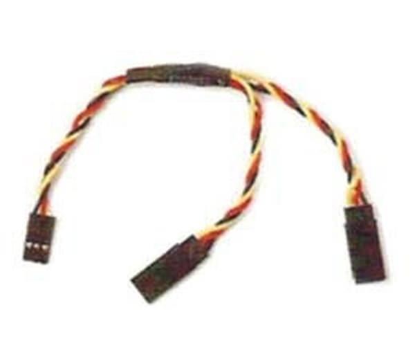 1x 30cm Servo Y- Verlängerungskabel 26AWG für JR Graupner V-Kabel