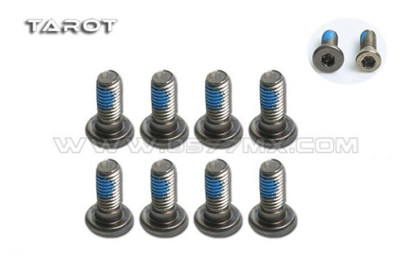 Tarot TL2882-01 M3 Step Screw (großer Kopf) M3x6 (8 Stück)