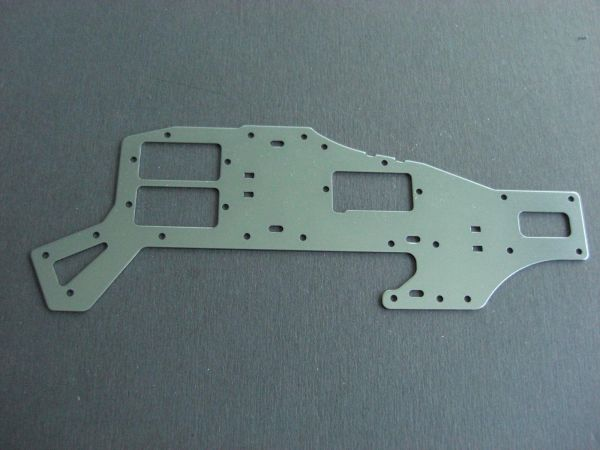 1x Alu Chassis Seitenteil Oben T-Rex 450 SE V2 CopterX