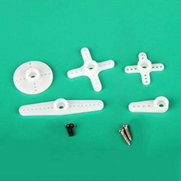 Ersatz Ruderhörner und Schrauben für Emax ES09A und ES09D Micro Servo