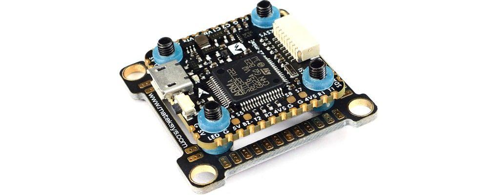 Matek Mini F7 Flight Controller FC OSD BlackBox 20x20mm - F722-Mini