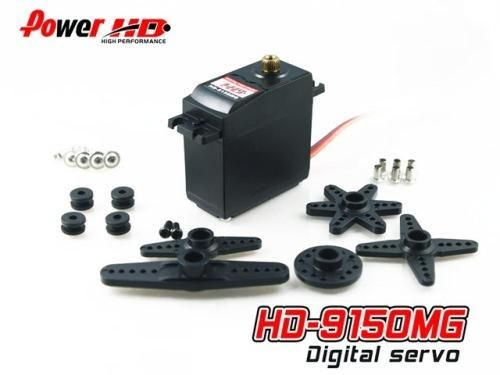 PowerHD HD-9150MG Digital Metallgetriebe Servo 61g 16kg 0,18sec 4,8V-6V