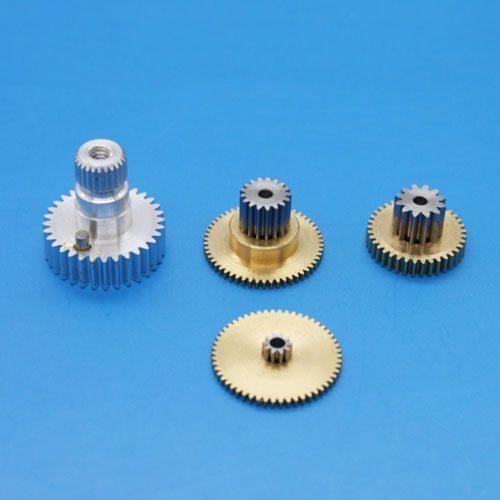 Ersatzgetriebe Metall für Emax ES9258 Heck Servo