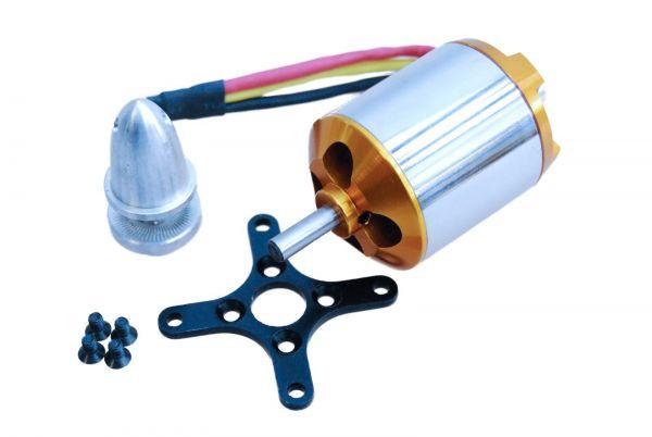 A2826/4 Brushless Außenläufer Motor 1000kv 3S-5S 11,1-18,5V 3548 A2826