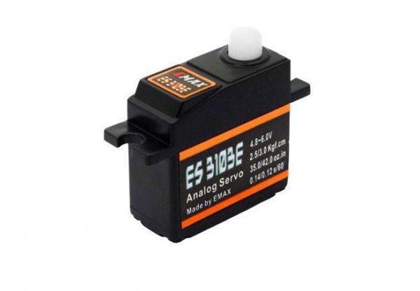 Emax Budget ES3103E Mini Servo 17g 3.0kg 0,12sec 4,8V-6V Kugellager BB