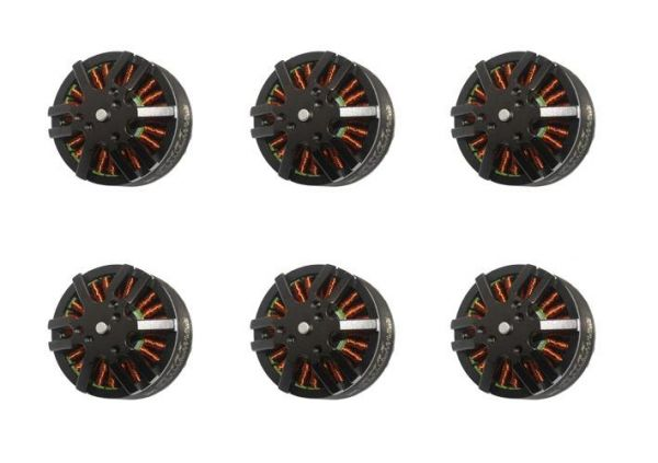 6x Emax MT4114 Brushless Motor 340kv 6S 22,2V 141g 15x5.5 Hexacopter Set
