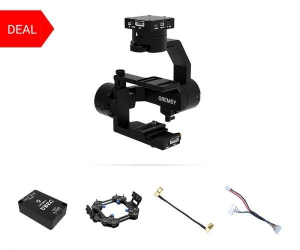 Gremsy S1 Gimbal Bundle für Flir Duo Pro R Kamera