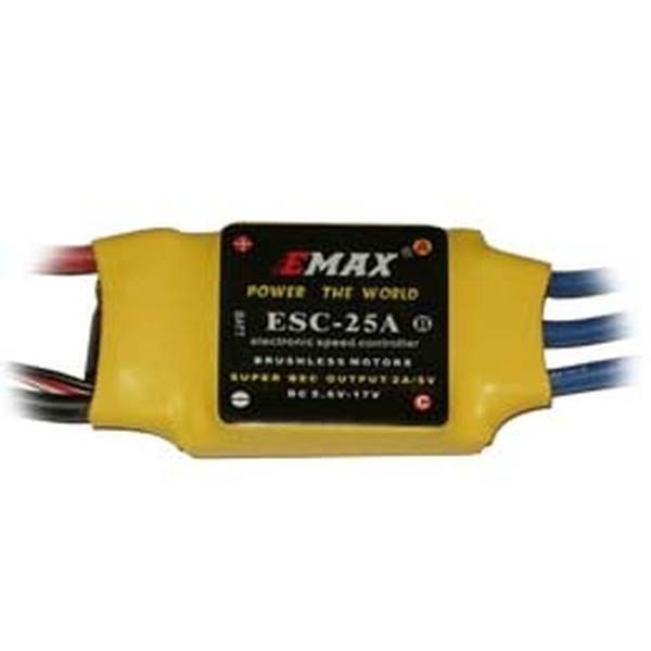 Emax Brushless Regler 25A 2S-4S (16,8V) 2A BEC V2 ESC