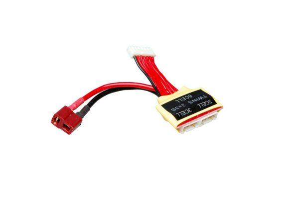 Ladekabel Dean - Adapter zur Ladung von 2x 3S LiPos in Serie
