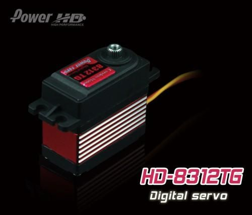 PowerHD HD-8312TG Digital Titangetriebe Servo 57g 13,5kg 0,10sec 4,8V-6V