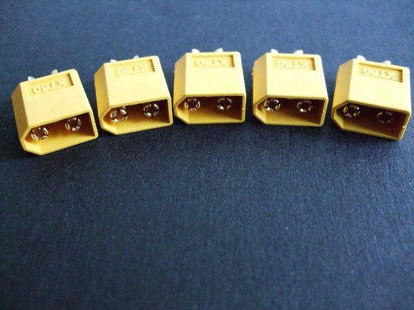 5x XT60 Stecker passend für Turnigy Zippy LiPo XT 60
