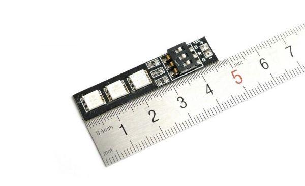 Matek Systems 5050 LED RGB Leiste mit 7 einstellbaren Farben 3S 12V