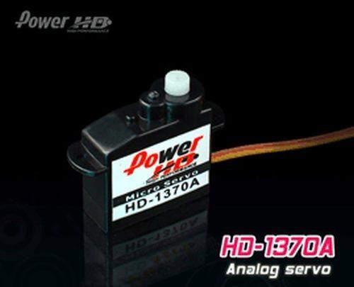 PowerHD HD-1370A Micro Analog Servo 3,7g 0.6kg 0,10sec 4,8V-6V