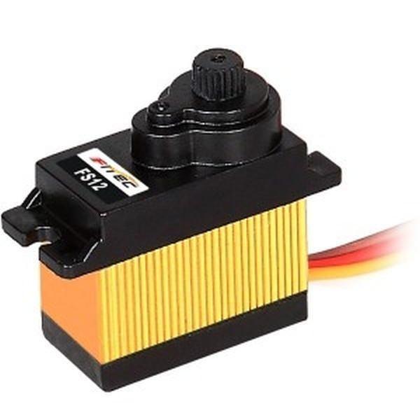 Feetech FS12 Micro Servo 12g 1.8kg 0,10sec 4,8V-6V mit Kühlkörper