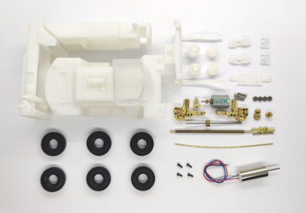 DAS87 DS87A04 Bausatz aus Messing für 1:87 HYUNDAI 250D-7E Gabelstapler