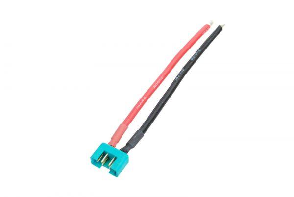 1x Multiplex M6 Stecker fertig verlötet mit 10cm Kabel