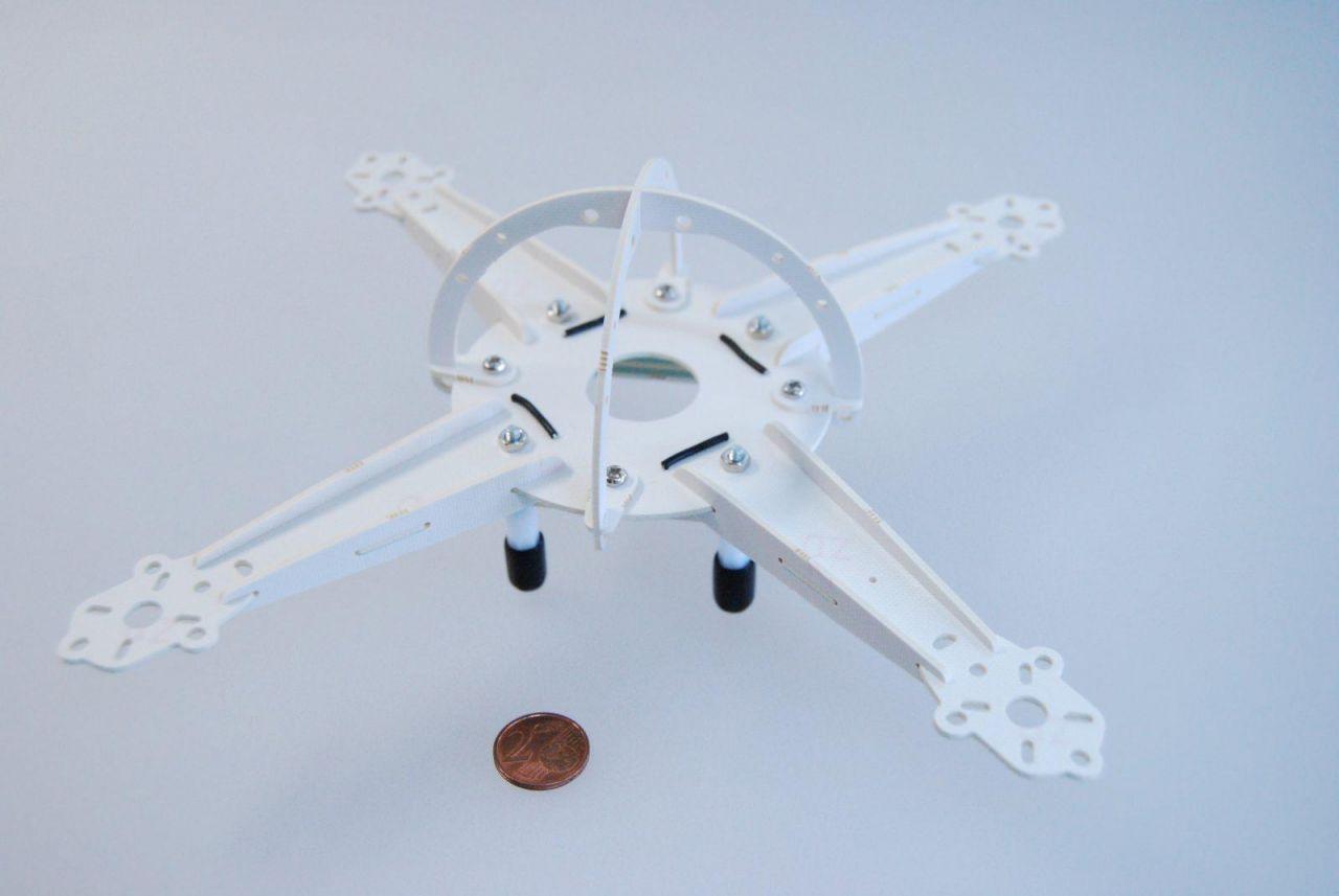 Turnigy Micro Quadrocopter Rahmen 25cm integrierte Verteilerplatine