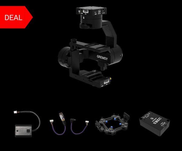 Gremsy S1 Gimbal Bundle für Sony Alpha A6000 Kamera Serie