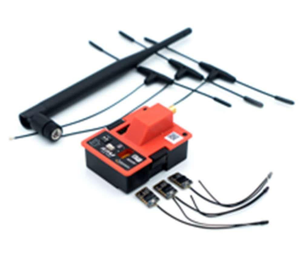 FrSky R9M EU + 3x R9MM Empfänger 868MHz + T-Antennen Long Range