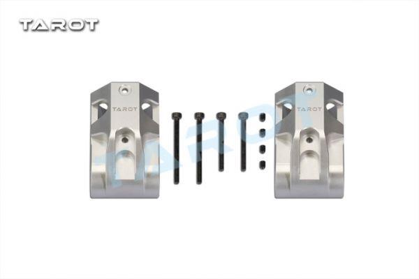 Tarot TL96035 Alu CNC Upgrade Halter Kufe für 25mm / 16mm CFK Rohre