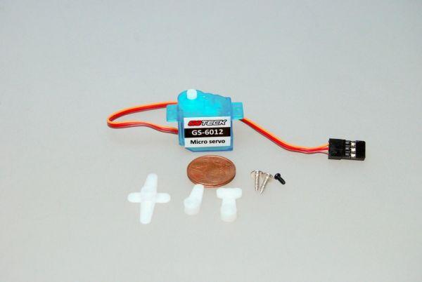 6g Micro Servo 1,2kg/cm 0,1sec 4,8V-6V GS-6012 für Parkflyer