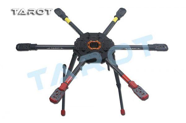 Tarot T810 Sport klappbarer Carbon Hexacopter Rahmen - elektrisches Landegestell