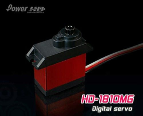 PowerHD HD-1810MG Mini Digital Metallgetriebe Servo 15,8g 3.9kg 0,13sec 4,8V-6V