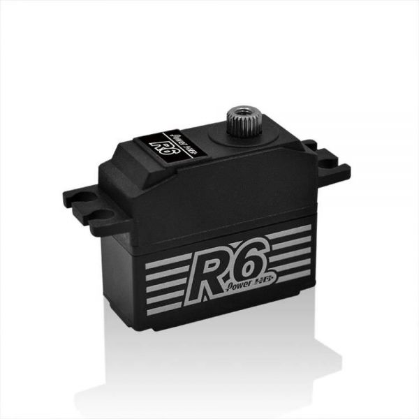 PowerHD R6 Digital HV Servo 7,5kg 0,08sec 28,5g 6V-7,4V BB