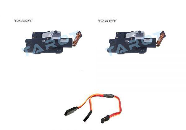 Tarot elektrisches Alu Carbon Landegestell 650, 680 Pro, 690S - Umbau Set