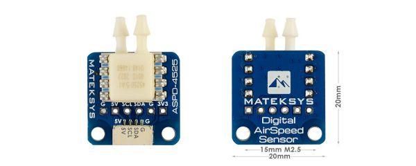 Matek ASPD-4525 Geschwindigkeitssensor - Digital AIRSPEED SENSOR
