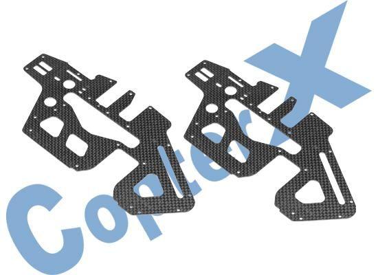 CopterX CFK Chassis Seitenteil 2x Set für T-REX 450 PRO