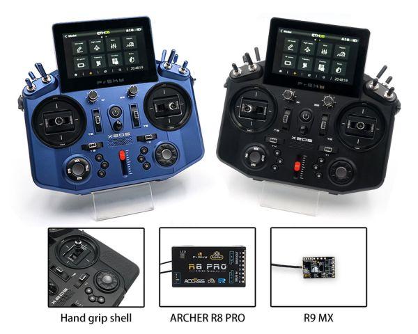 FrSky Tandem X20S 2,4GHz+ 868Mhz ACCST + ACCESS - Bundle Blau