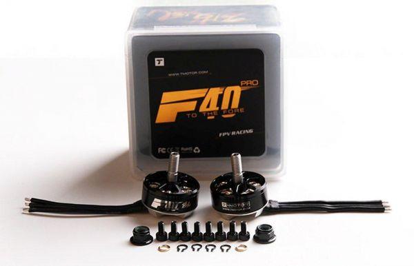 T-Motor F40 Pro FPV Race Brushless Motor 2400kv - 2 Stück