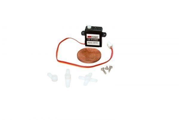 1,83g Ultra Micro Servo 0,07kg/cm 0,05sec Digital für 1S LiPo Indoor